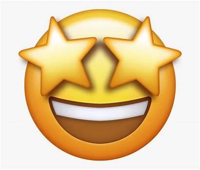 Emoji Smile Star Eyes Clipart Transparent Clipartkey