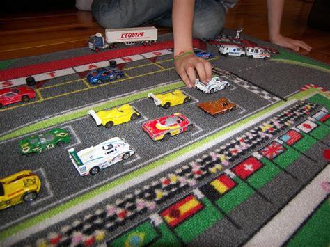 tapitom tapis de jeu circuit de voiture pour enfant