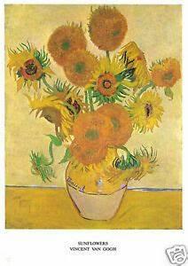 Vincent Van Gogh - Sunflowers - MEDICI POSTCARDS | eBay