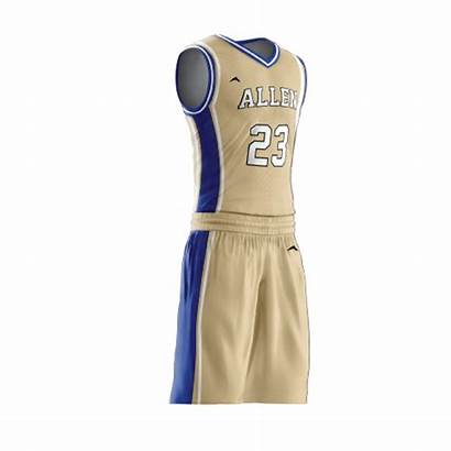 Basketball Uniform Ruthless Jersey Side Sublimated Pro
