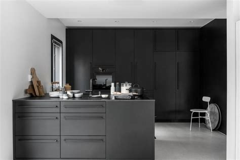 beautiful black kitchen coco lapine design bloglovin