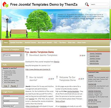 air joomlsa template view our joomla templates collection