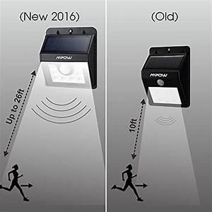 éclairage Extérieur Sans Fil : nouvelle version mpow lampe solaire led etanche faro ~ Dailycaller-alerts.com Idées de Décoration