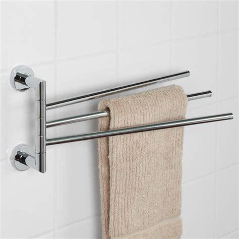 Bathroom Towel Bars by Bristow Swing Arm Towel Bar Towel Holders