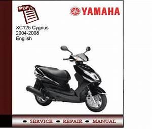 Yamaha Xc125 Cygnus 2004-2008 Workshop Service Manual