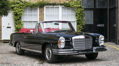 Rare And Lovely Rhd 1970 Mercedes 280 Se 35 Cabriolet For