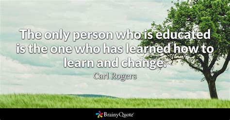 person   educated      learned