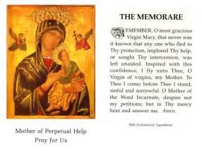 association of catholic the memorare