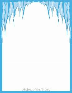 Icicles Border Clipart (4+)