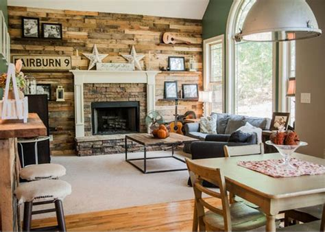 20 Best Rustic Chic Living Rooms That You Must See The