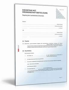 Ehevertrag Wann Abschließen : ehevertrag mit errungenschaftsbeteiligung muster vorlage ~ Lizthompson.info Haus und Dekorationen