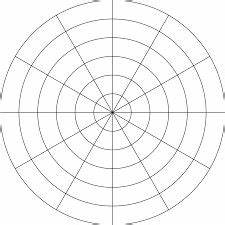 radian graph paper polar coordinate graph paper grid polar grid in degrees
