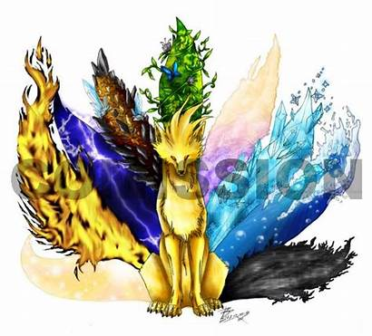 Wolf Elemental Fox Tails Anime Photobucket Ninetails