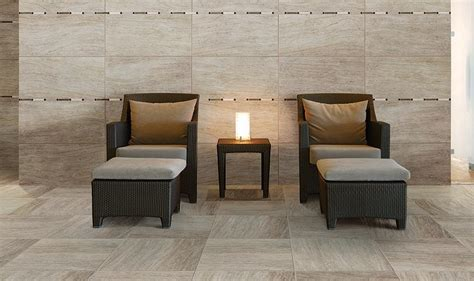 "Marazzi Silk Sophisticated 18"" x 36"" Glazed Porcelain Tile"
