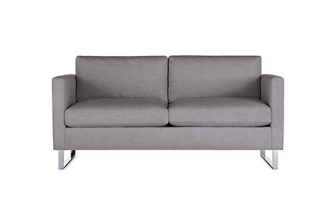 2 seater settee second goodland two seater sofa design within reach