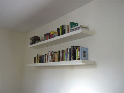 White Shelves On Wall by Book Wall Shelves Gallery With Design Enhancement
