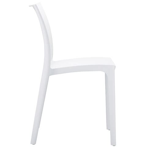 chaise moderne blanche chaise design enzo blanche chaise moderne