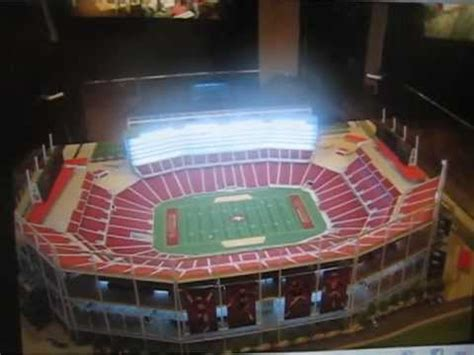 sf ers nfl  stadium model   ticket office