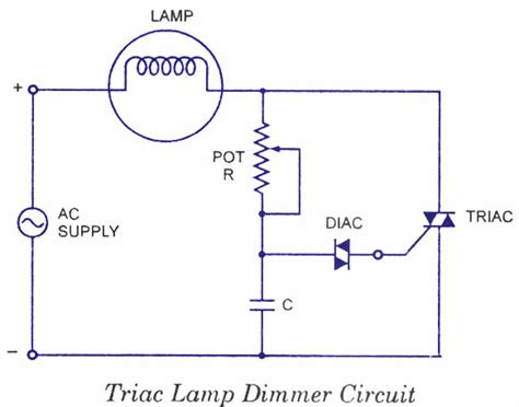 Diac Applications Electronic Circuits Diagrams