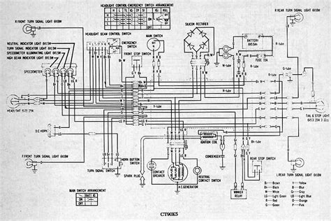 Part Complete Wiring Diagrams Honda All About