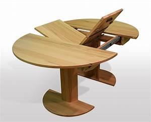 Esstisch rund massiv ausziehbar neuesten for Tisch rund ausziehbar massiv