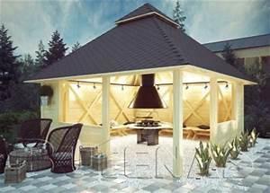 Grill Pavillon Holz : grillh tten exklusive auswahl an grill pavillons ~ Whattoseeinmadrid.com Haus und Dekorationen