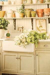french cottage decorating ideas | My laundry room is ...