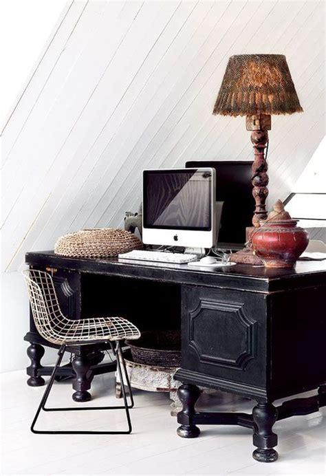 bureau style colonial un salon à la déco éthnique cocon de décoration le