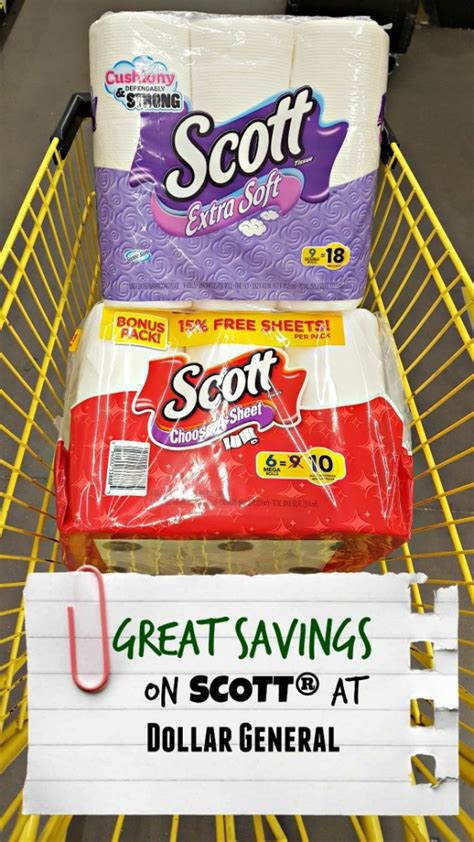 Saving On Scott At Dollar General—it's Easy!  Cocktails