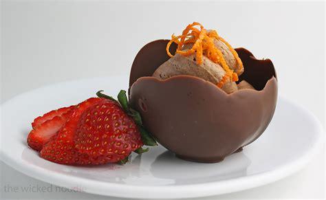 how to make chocolate bowls amazing desserts to make myideasbedroom com