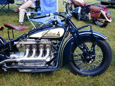 1929 Indian 4 Motocycle, Mo. 402 -don't Get No Better