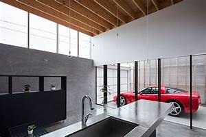 Auto In Der Garage : garage terrace house in kyoto by yoshiaki yamashita ~ Whattoseeinmadrid.com Haus und Dekorationen