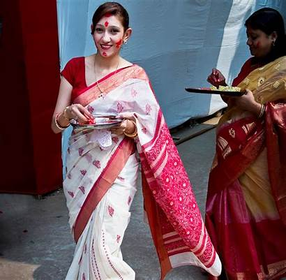 Traditional India Wear West Bengal Different States