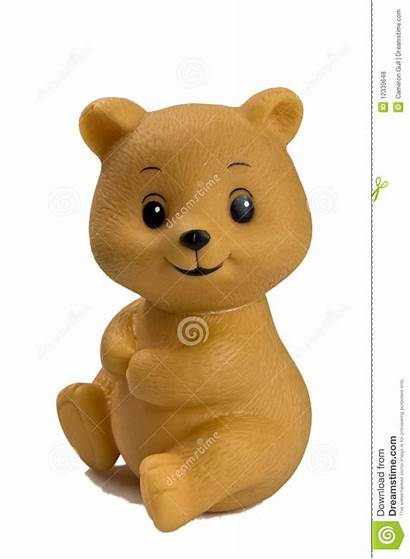 Plastic Toy Bear Royalty Close Dreamstime