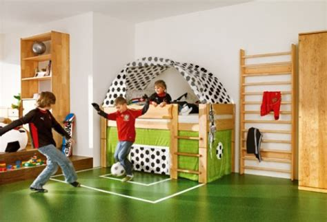 soccer themed bedroom photography 27 cool bedroom theme ideas digsdigs