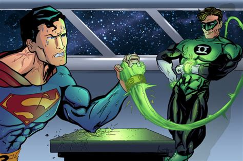 green lantern vs superman by geekstarblack ign