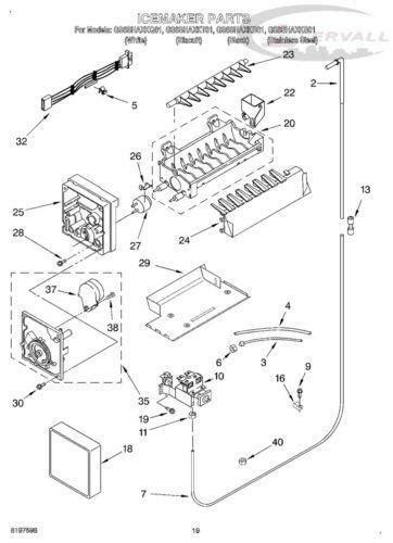 kenmore refrigerator ice maker parts ebay