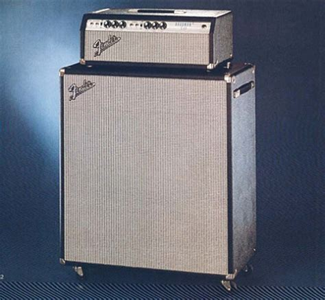 Fender Bassman Cabinet 2x15 by Fender Bassman 50 And 2x15 Quot Speaker Cabinet