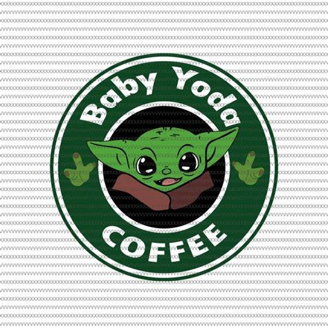 Starbucks coffee baby yoda svg works with silhouette studio, silhouette studio designer edition, cricut design space, sure cuts a lot and other cutting software that accepts the offered file types. Baby yoda coffee svg, Baby Yoda svg, The Mandalorian The ...