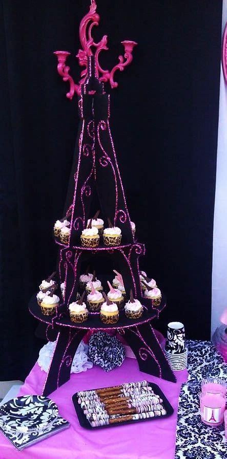 eiffel tower cupcake stand paris eiffel tower