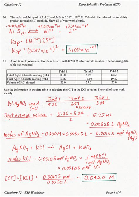 acid and bases worksheet answer key worksheets for all