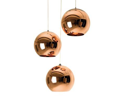 tom dixon copper l copper shade pendant light hivemodern