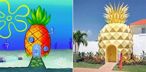 Real Spongebob House