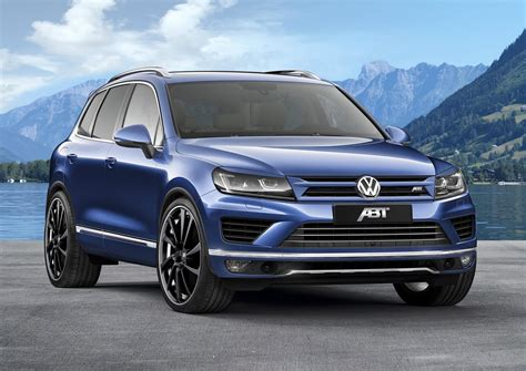 Official 2018 Abt Volkswagen Touareg 30 Tdi Gtspirit