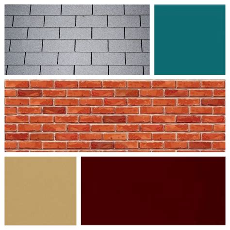 exterior paint colors for gray roof exterior color scheme for brick and grey roof