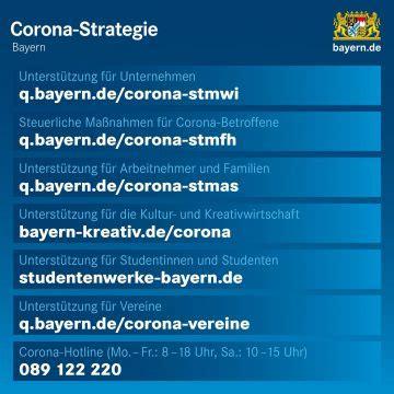Wie ist die aktuelle situation in bayern und wo bekomme ich. Corona-Regeln: laufend aktualisierte Übersichten - Bayern News