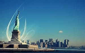 New, York, U0026, 39, S, Statue, Of, Liberty, Wallpapers