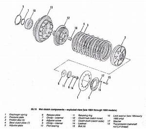 Dan U0026 39 S Motorcycle Exploded Clutch Views