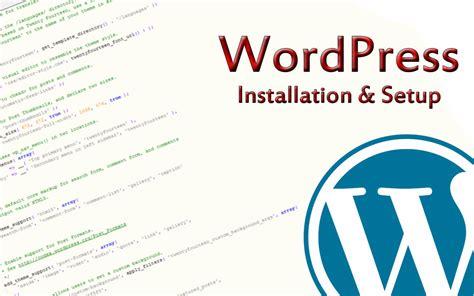 How To Install Wordpress? How To Setup Wordpress
