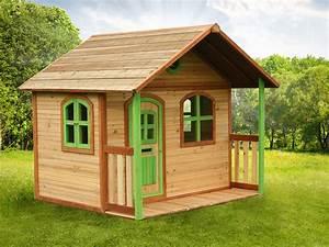 Maison Enfant Bois : cabane enfant bois milan x x m 39552 ~ Teatrodelosmanantiales.com Idées de Décoration
